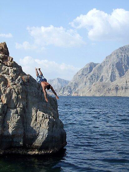 Khor am-Sham, Oman by John Douglas