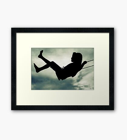 To Fly Framed Print
