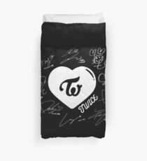 TWICE - Signed With Logo #NEW  Duvet Cover