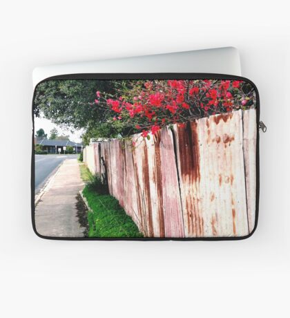 japonica and the rusty fence Laptop Sleeve