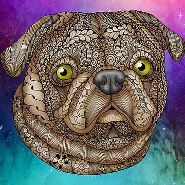 Pug Face by MagicMama