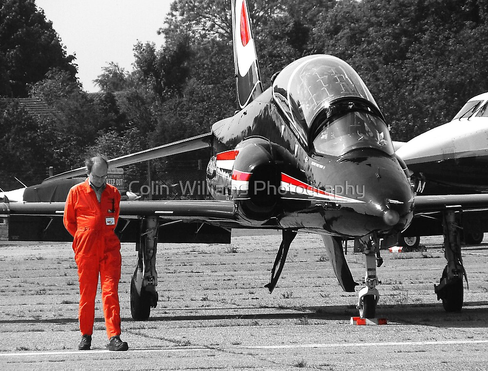 Hawk Trainer by Colin  Williams Photography