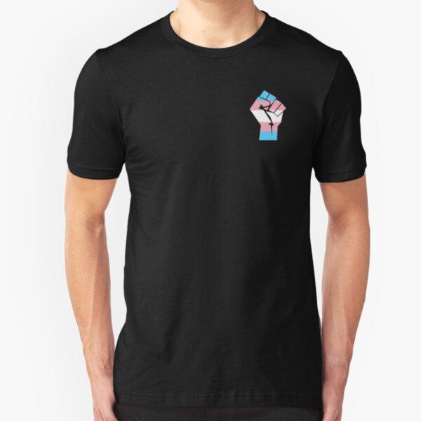 Transgender Power/Pride Slim Fit T-Shirt