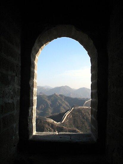 Great Wall, China by John Douglas