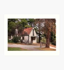 Artists Cottage Art Print