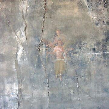 Pompeii Wall by JohnDouglas