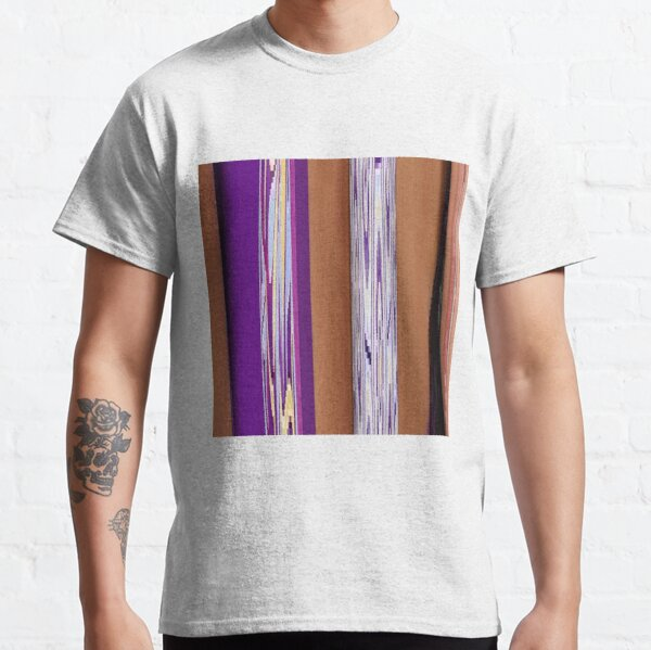 Pattern, design, tracery, weave, drawing, figure, picture, illustration Classic T-Shirt