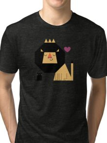 Love Lion Tri-blend T-Shirt