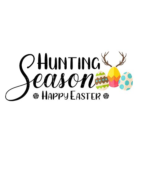 Easter Hunting Season Shirt Cute Bunny Funny Egg Hunting Tee by arnaldog