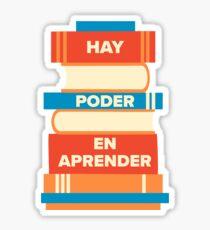 Hay poder en aprender  Sticker