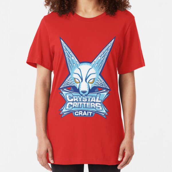 GO TEAM CRYSTAL CRITTERS! Slim Fit T-Shirt