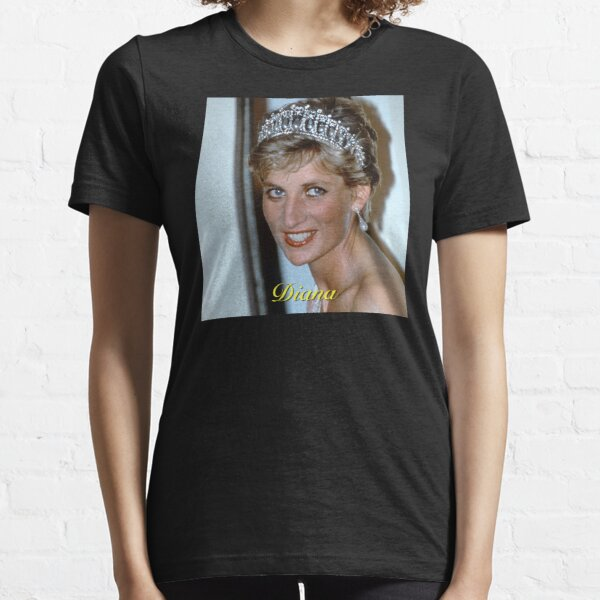 Beautiful! HRH Princess Diana in her tiara Brazil 1991 - Pro Photo Essential T-Shirt