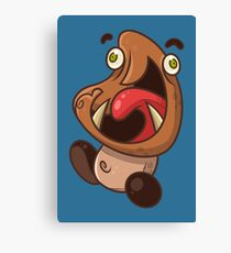 Excited Goomba Canvas Print