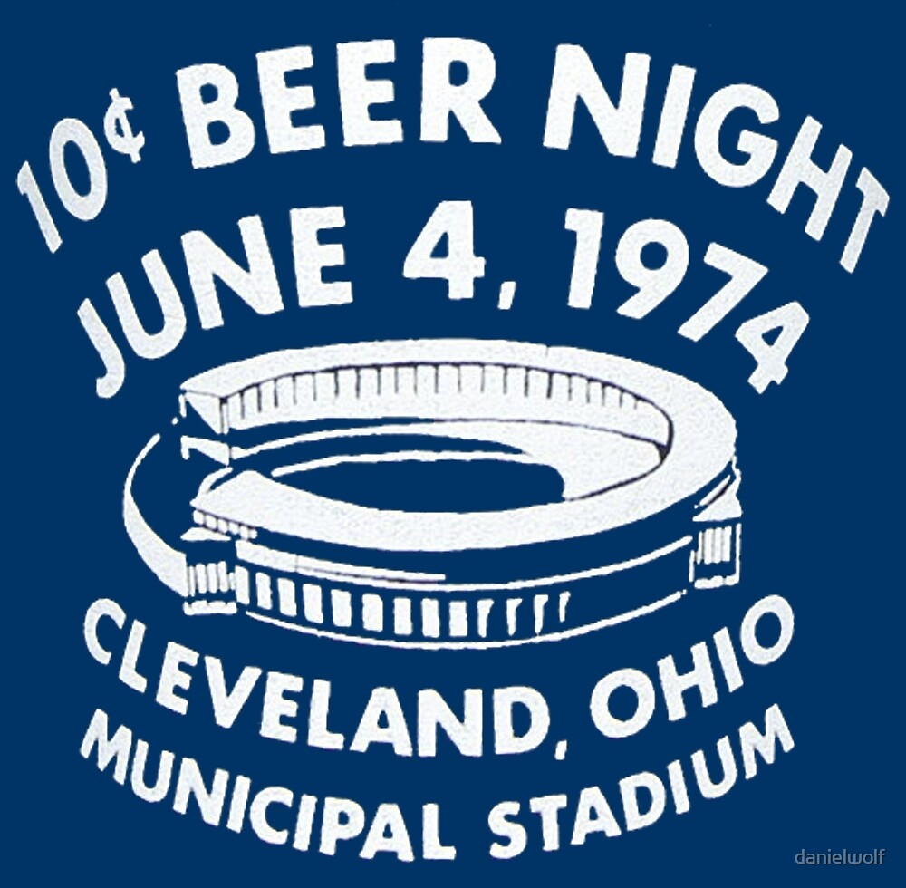 Cleveland 10 Cent Beer Night  by danielwolf