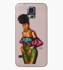 Kente Laced Case/Skin for Samsung Galaxy