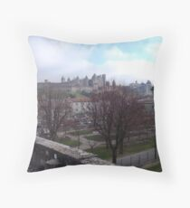 Old, New and Blue Throw Pillow