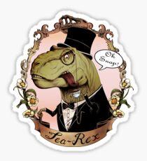 Tea-Rex Sticker