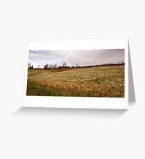 Village scenery Greeting Card