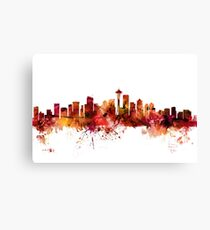 Seattle Washington Skyline Canvas Print