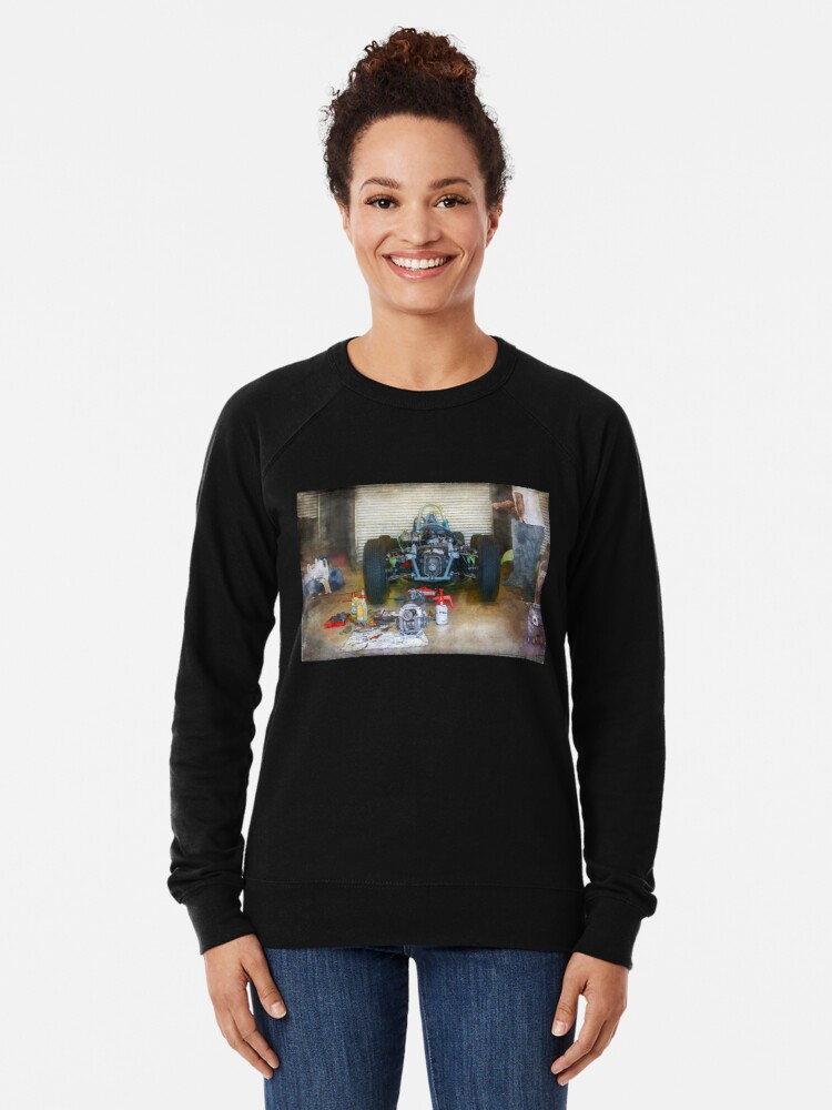 Alternate view of Gearbox Troubles Lightweight Sweatshirt