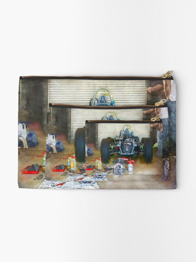 Alternate view of Gearbox Troubles Zipper Pouch