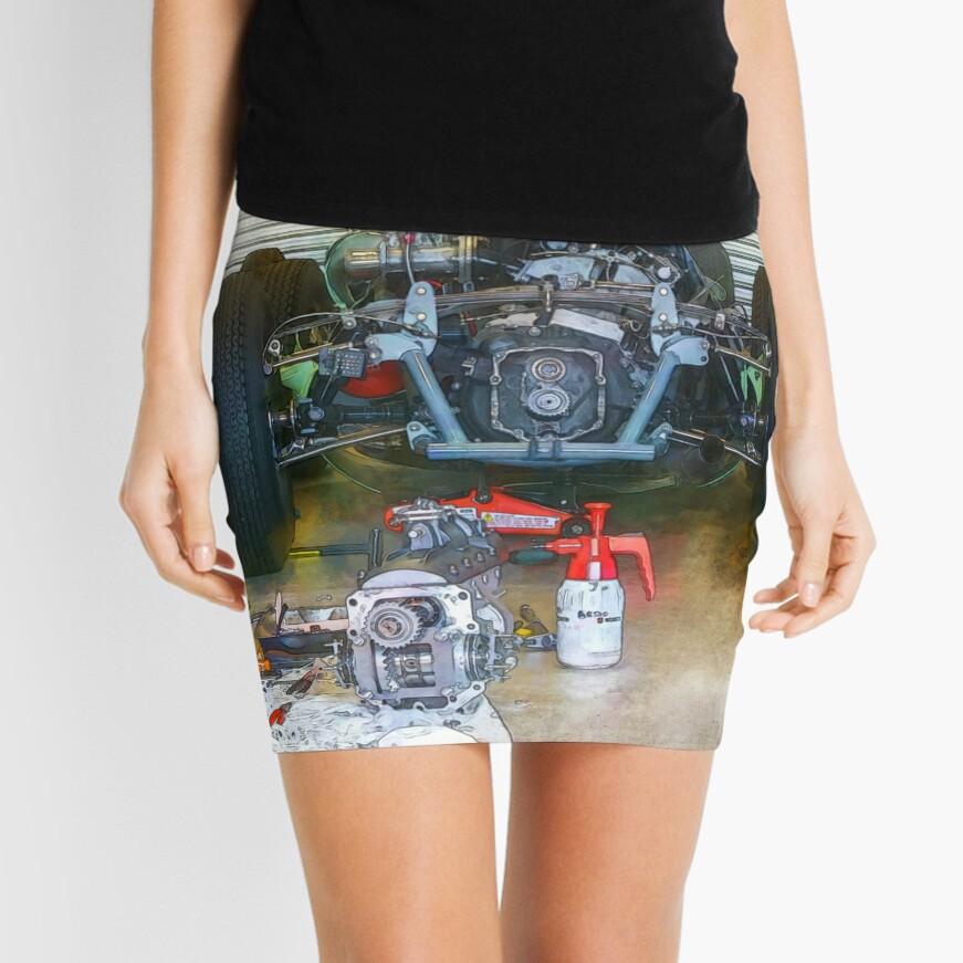 Gearbox Troubles Mini Skirt
