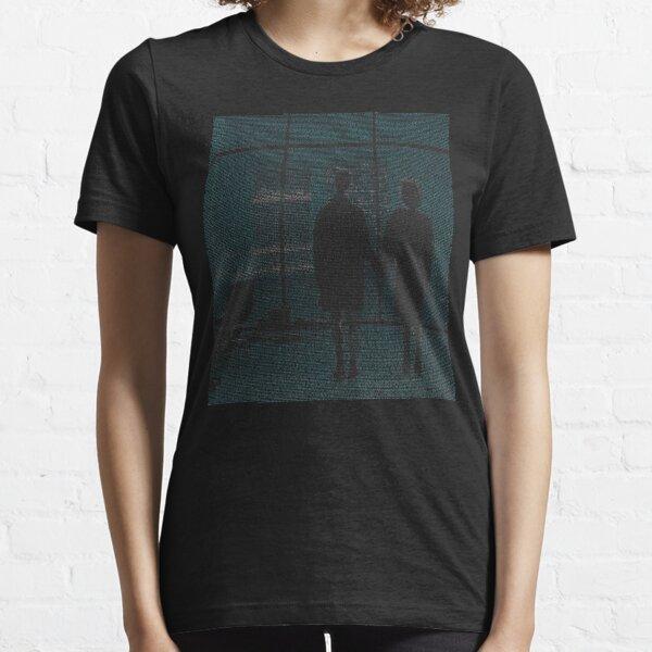Fight Club / Film entier Script / Final Scene T-shirt essentiel