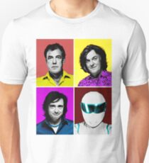 Top Gear Inspired Pop Art, All Personalities in One T-Shirt