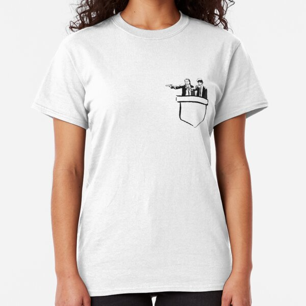 pocket pulp fiction T-shirt classique