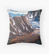 Ocean Winds Throw Pillow