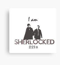 Sherlocked! Canvas Print
