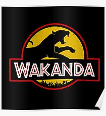 Wakanda Jurassic Park Poster