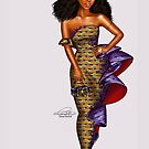 kente Lace-ffles by Peniel Enchill