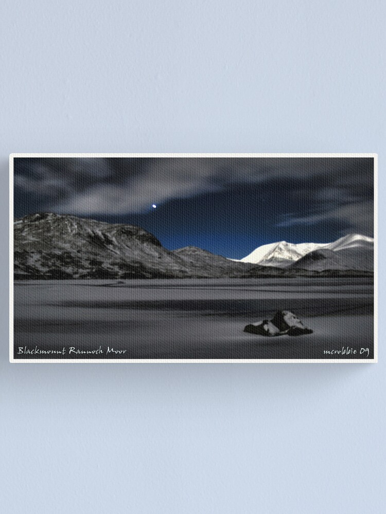 Alternate view of Blackmount  Hdr Canvas Print