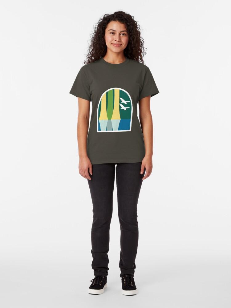 Alternate view of Lake Buena Vista Classic Logo Classic T-Shirt