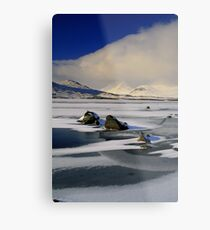 Blackmount Snowstorm Metal Print