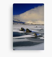 Blackmount Snowstorm Canvas Print