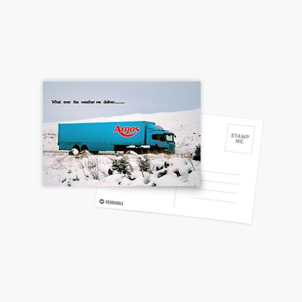 Argos Postcard