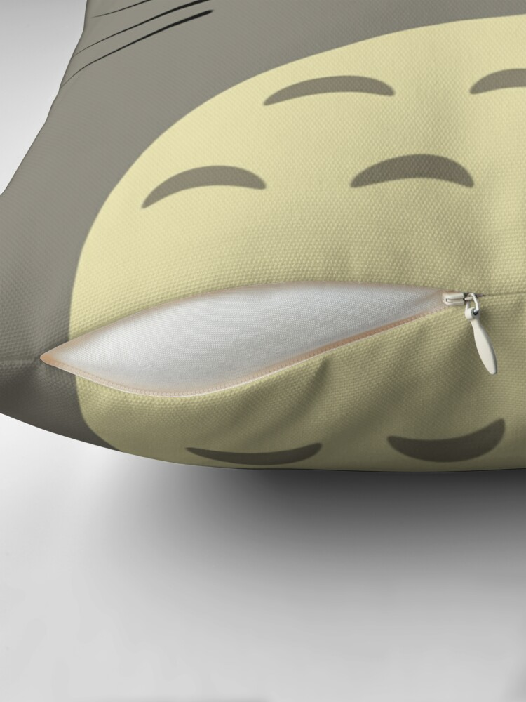 Alternate view of Totoro Throw Pillow