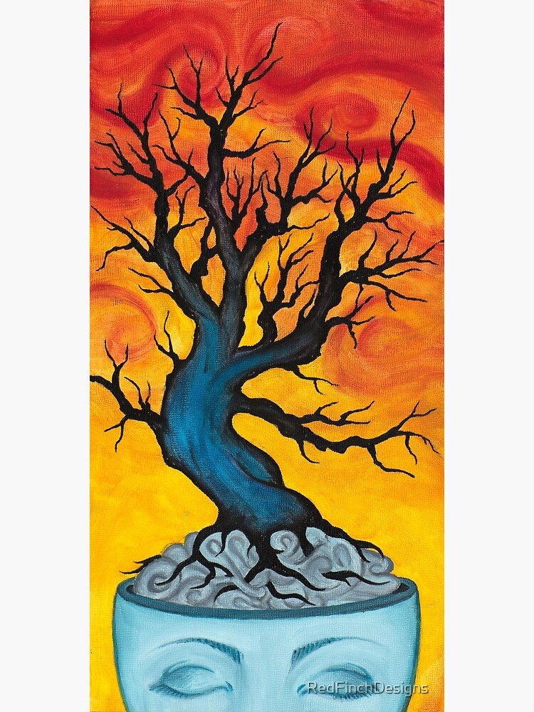 From Dreams Ideas Will Grow Oil Painting By Bazil Zerinsky Greeting Card By Redfinchdesigns Redbubble
