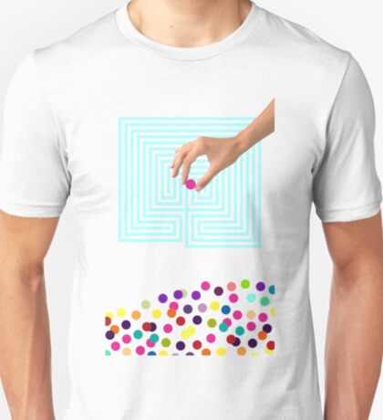 Color Chaos Collection -- Labyrinth T-Shirt