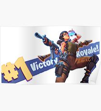 fortnite - Victory Rotale Poster