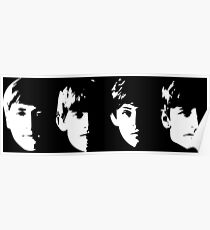 With The Beatles Poster