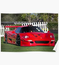 Ferrari F50 GT1 Poster