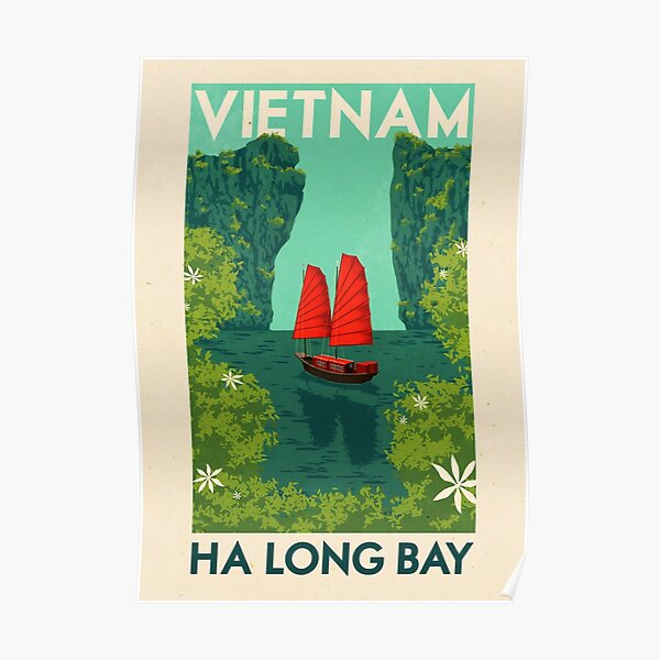 Travel Posters - Ha Long Bay Poster