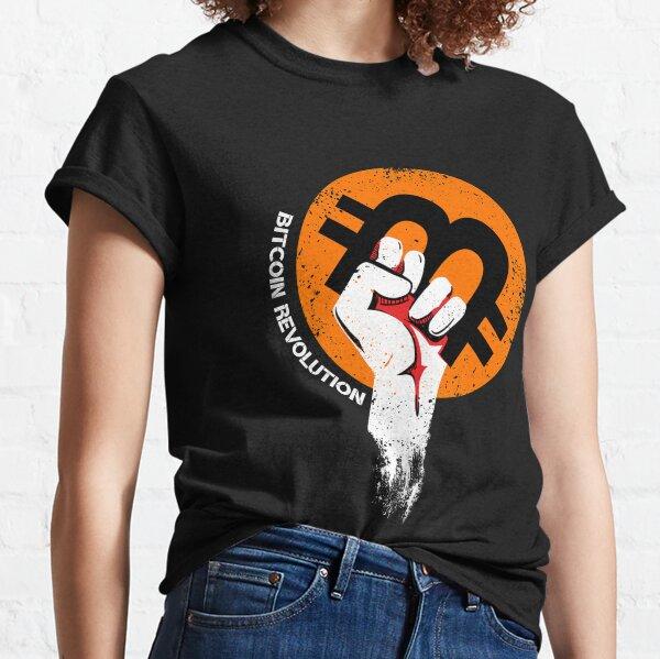 "Crypto T-shirt. Cryptocurrency ""Bitcoin logo"" t-shirt  Classic T-Shirt"