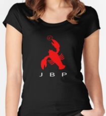 LOBSTER AIR  Women's Fitted Scoop T-Shirt