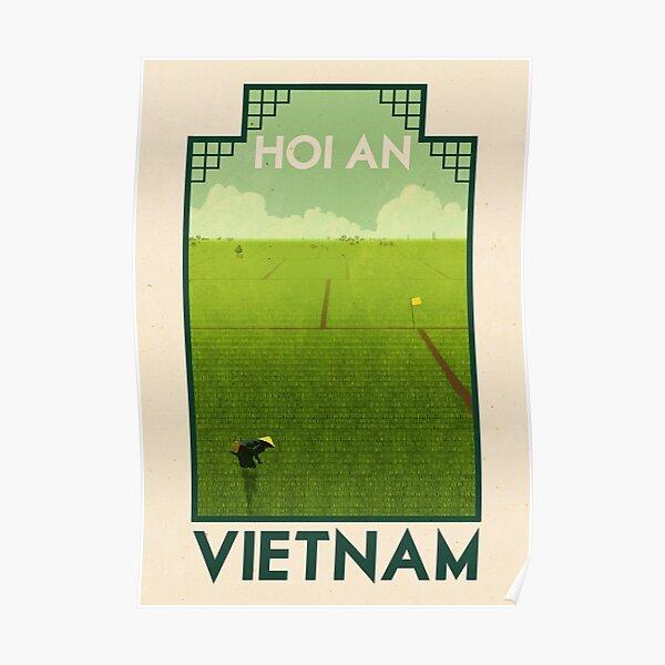 Travel Poster - Hoi An Vietnam Poster