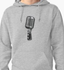 Shure 55 Classic Vintage Microphone  Pullover Hoodie