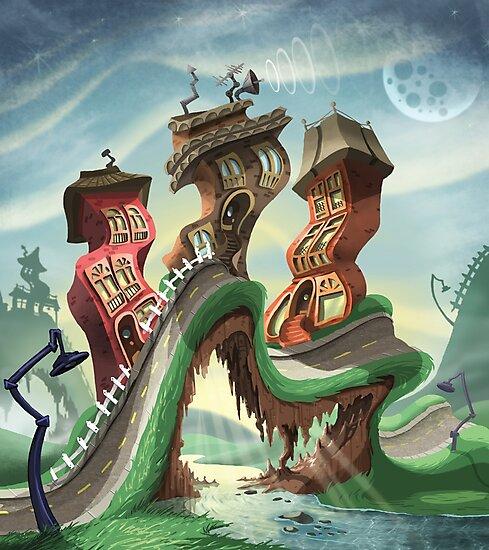 Crazy City 4 by Tom Bradnam